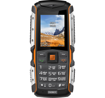 Телефон Texet TM-513R Black Orange