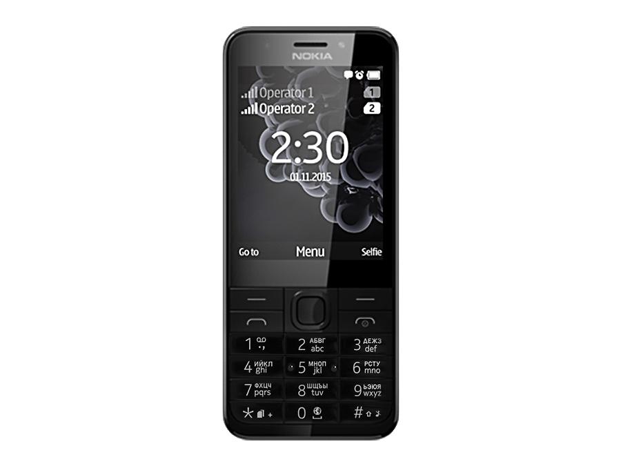 Телефон Nokia 230 Dual Sim Black